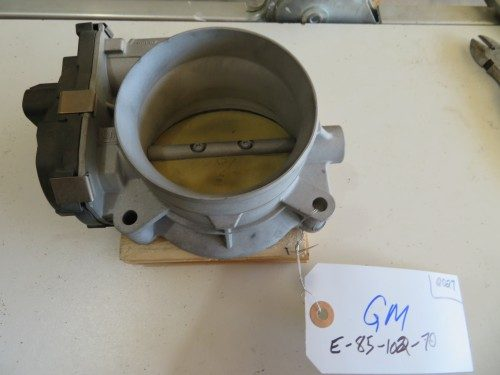 Throttle Body 0027 GM 2004 and Later