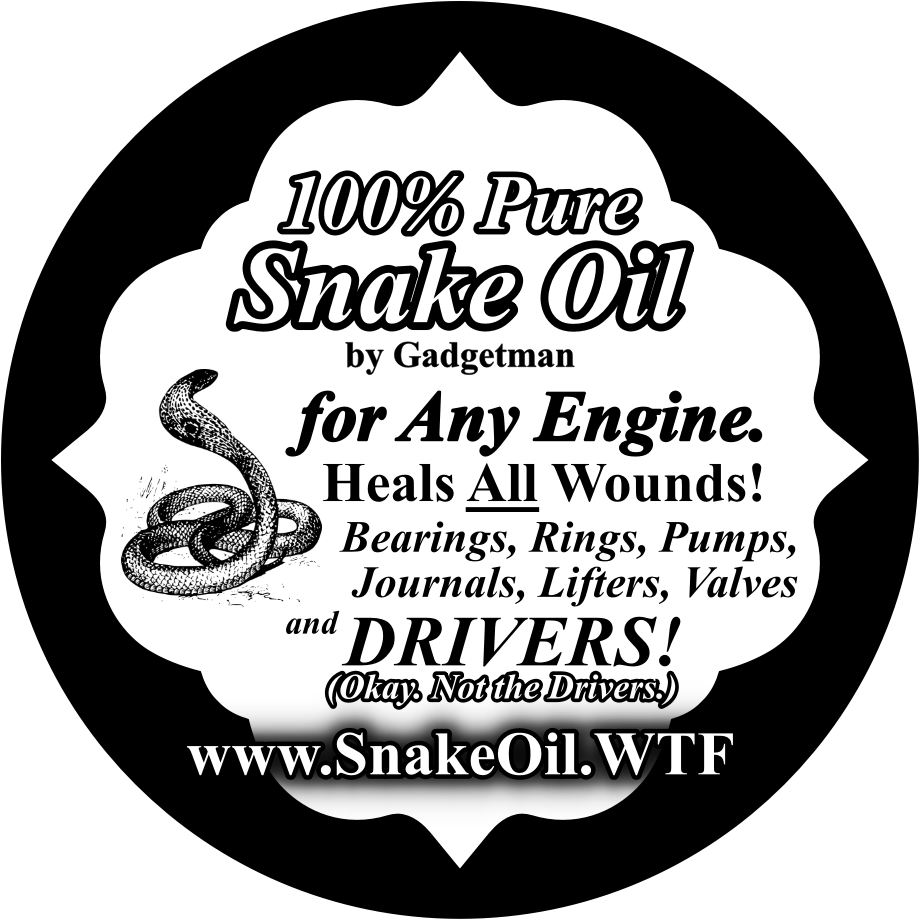 Link to Snake Oil Site